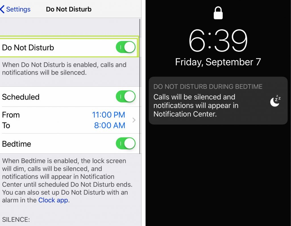 Do Not Disturb on Apple Watch