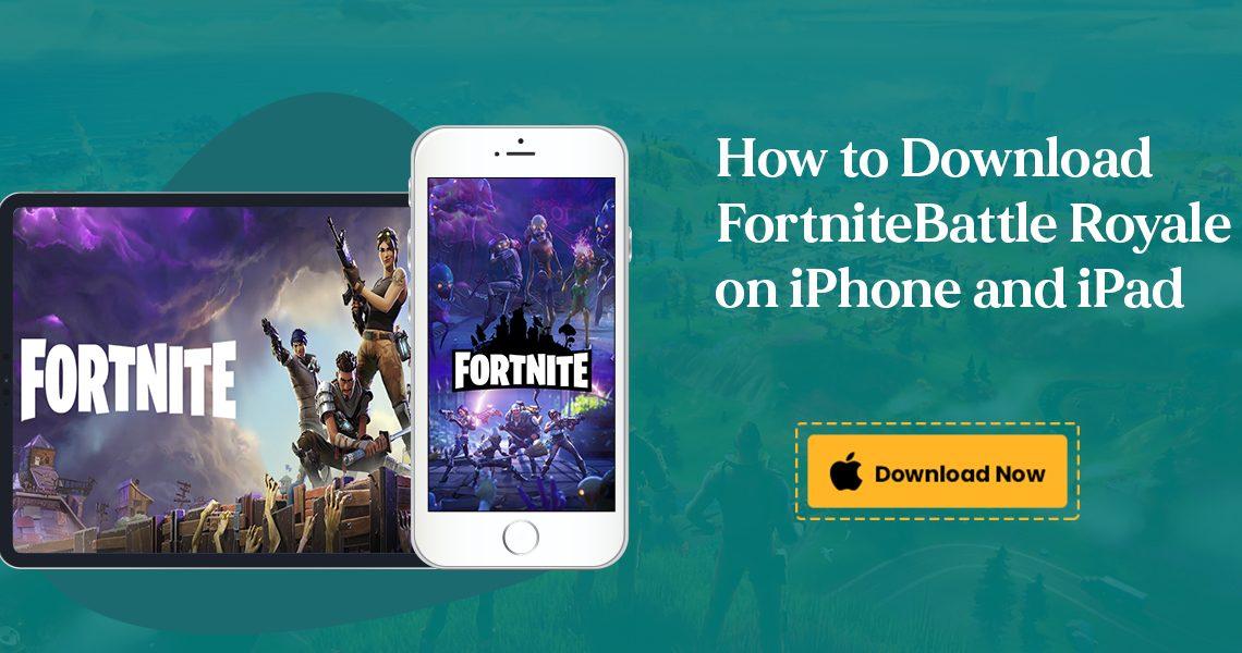 Download Fortnite Battle Royale on iPhone