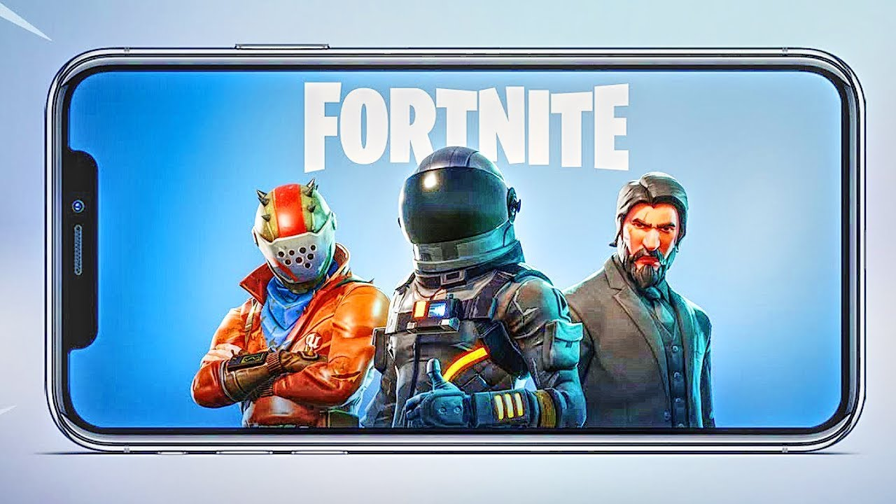 Download Fortnite Battle Royale on iPhone