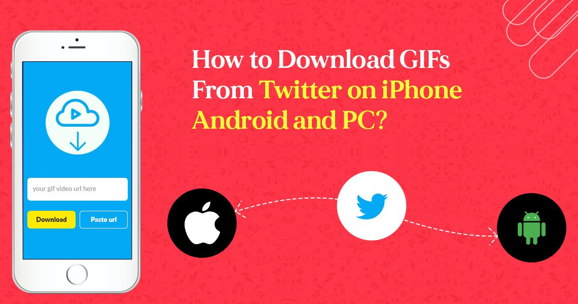 Download GIFs from Twitter on iPhone