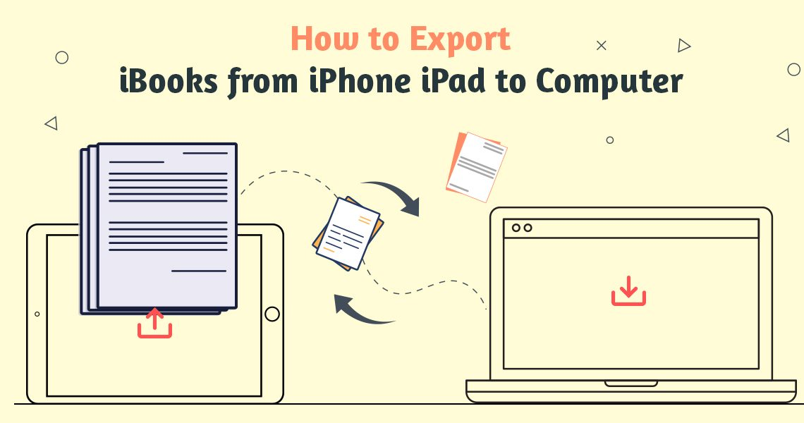 Export iBooks from iPhone