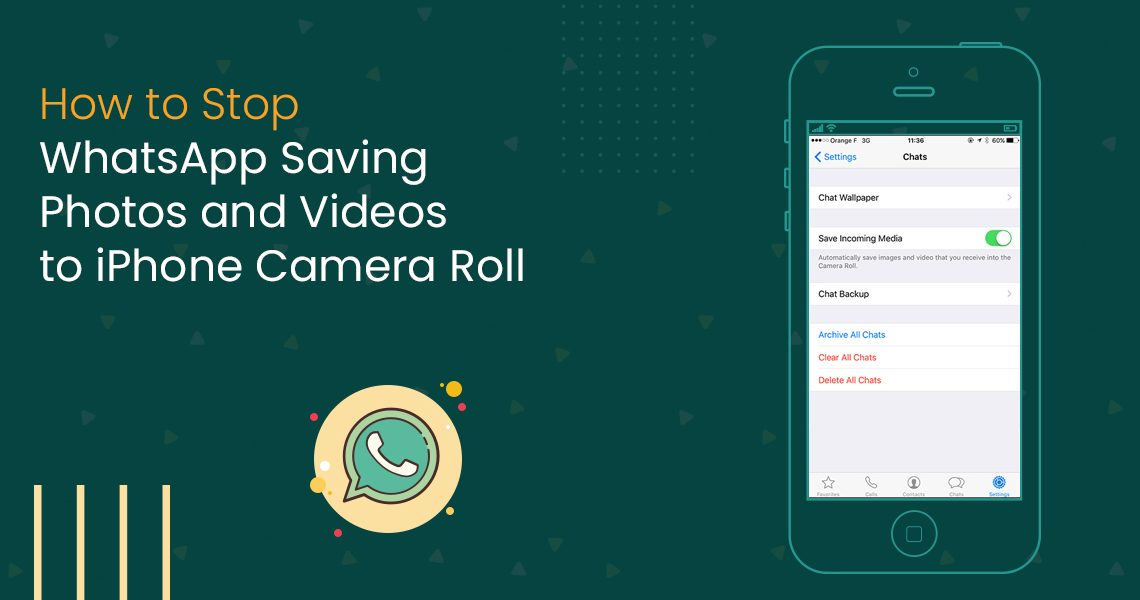 How to Stop WhatsApp Saving Photos
