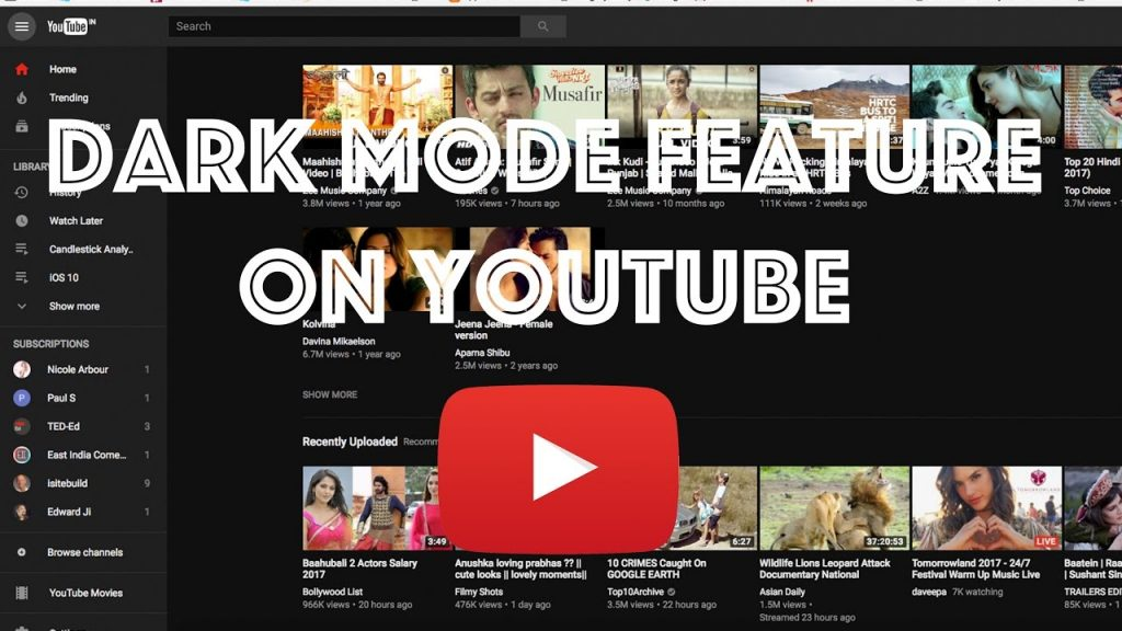 How to Turn On Dark Mode on YouTube PC?