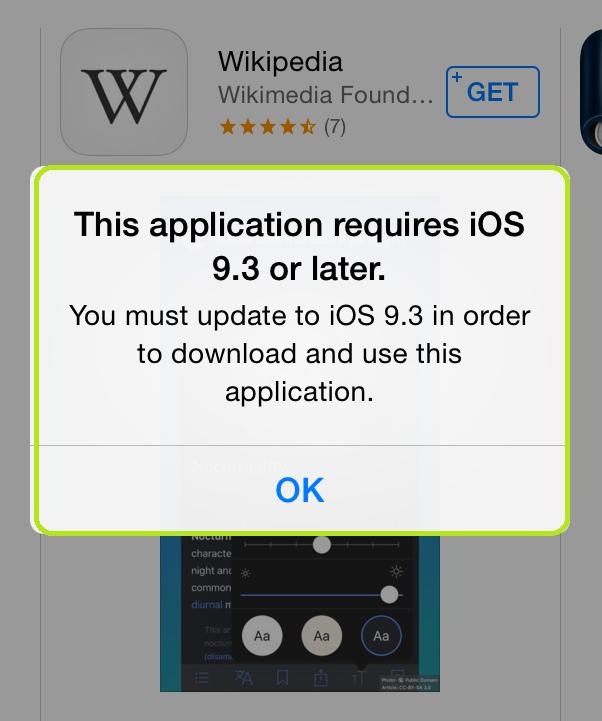 Install Old Version of App