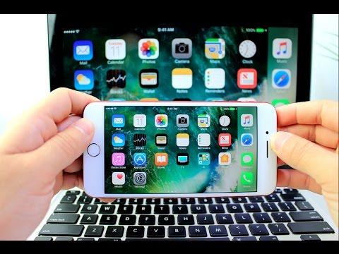 Mirror your iPhone or iPad on a Mac or Windows PC