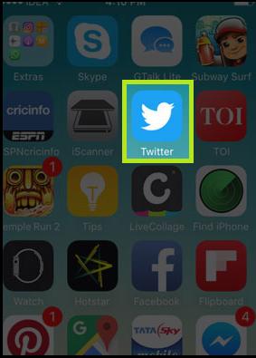 Open Twitter
