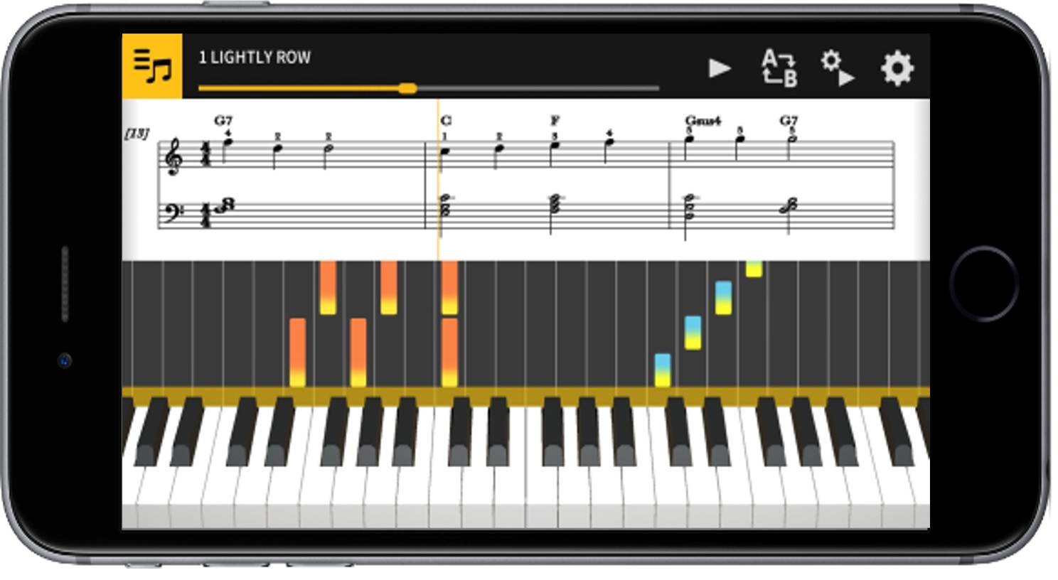 Piano Music Synthesizer