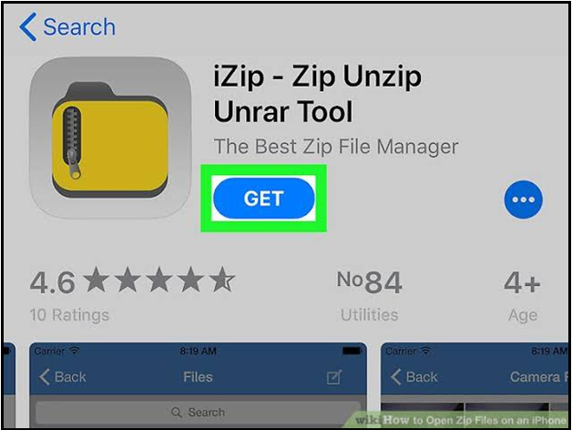 iZip – Zip Unzip Unrar Tool