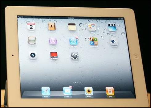 Delete photos from iPad