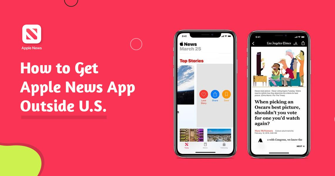 Get Apple News App Outside U.S