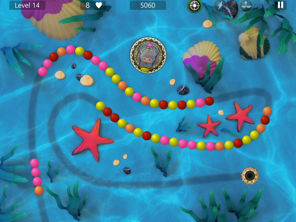 Marble Power Blast game