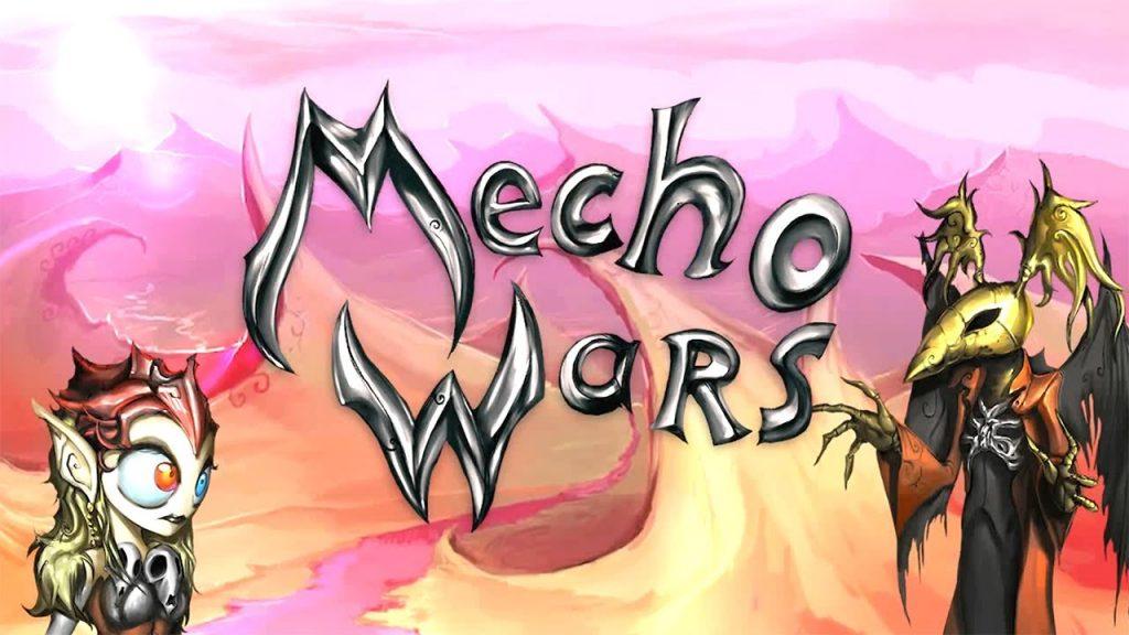 Mecho. Wars desert Ashes