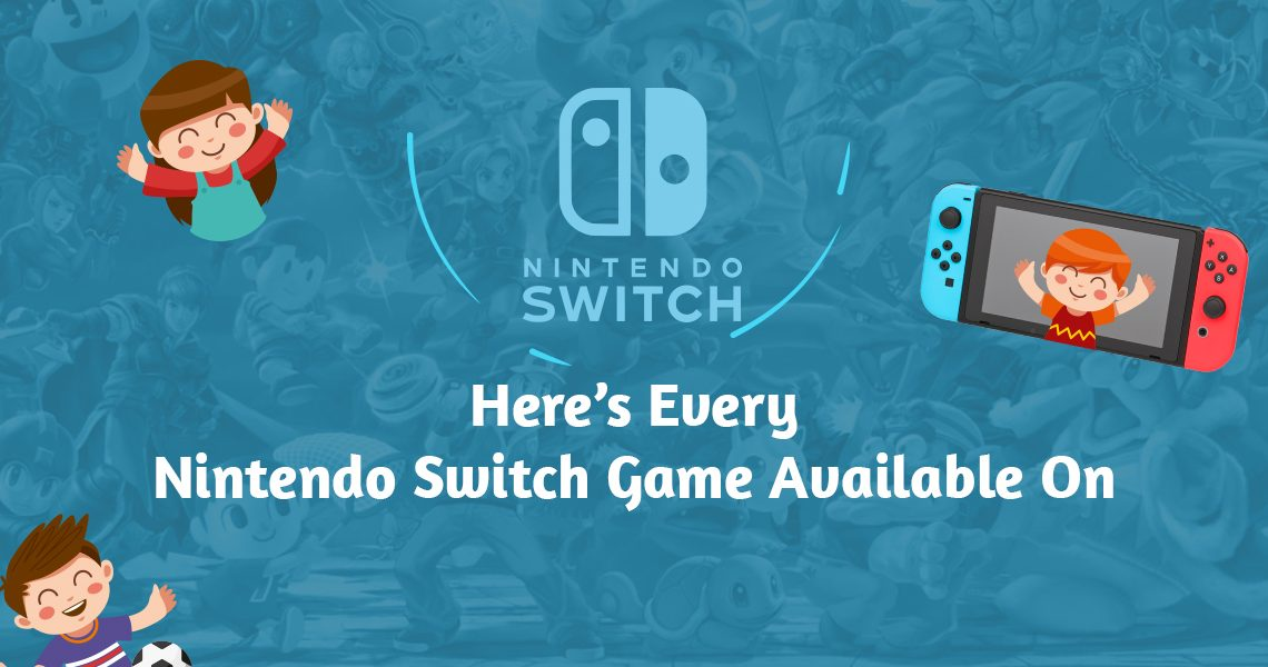 Nintendo Switch Game Available