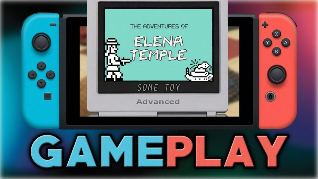 The adventure of Elena Temple game