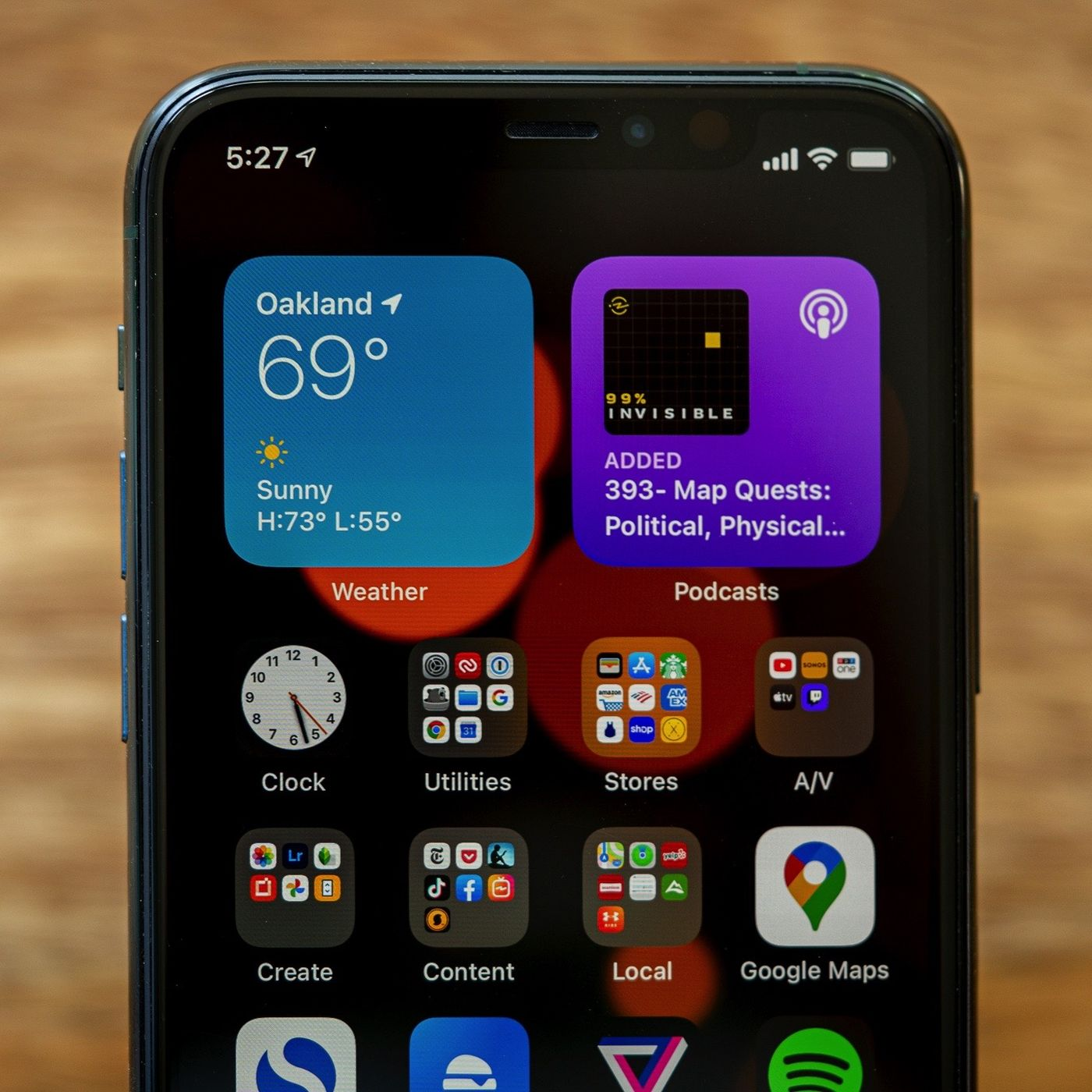 re-add the widget on iphone