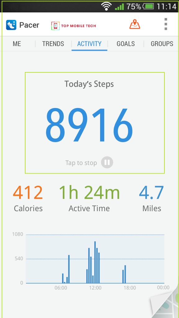 walking distance app