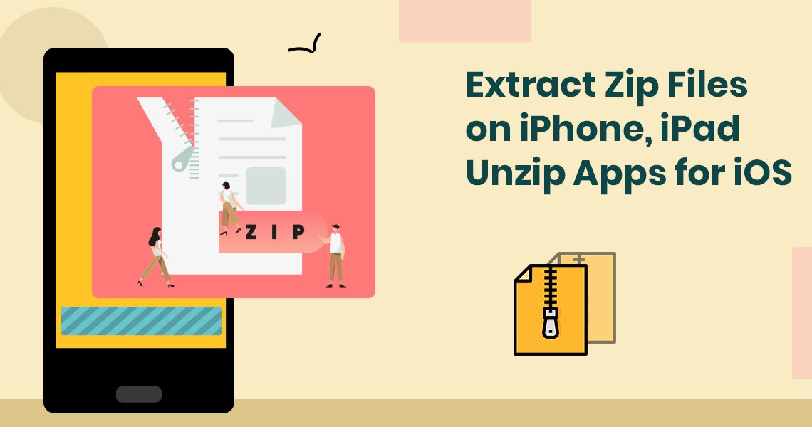 Extract Zip Files on iPhone