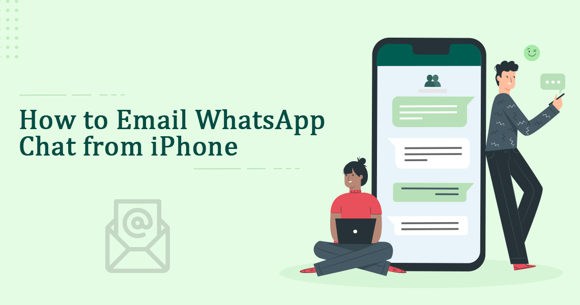 Email WhatsApp Chat From iPhone