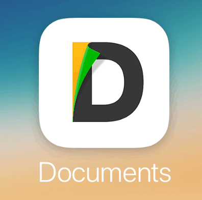 Documents by Readdle app