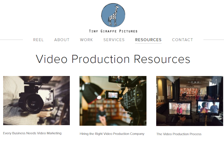 Tiny Giraffe Pictures video prodction