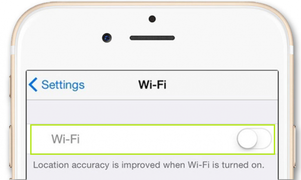 Disabling Your Wifi on Your iPhone
