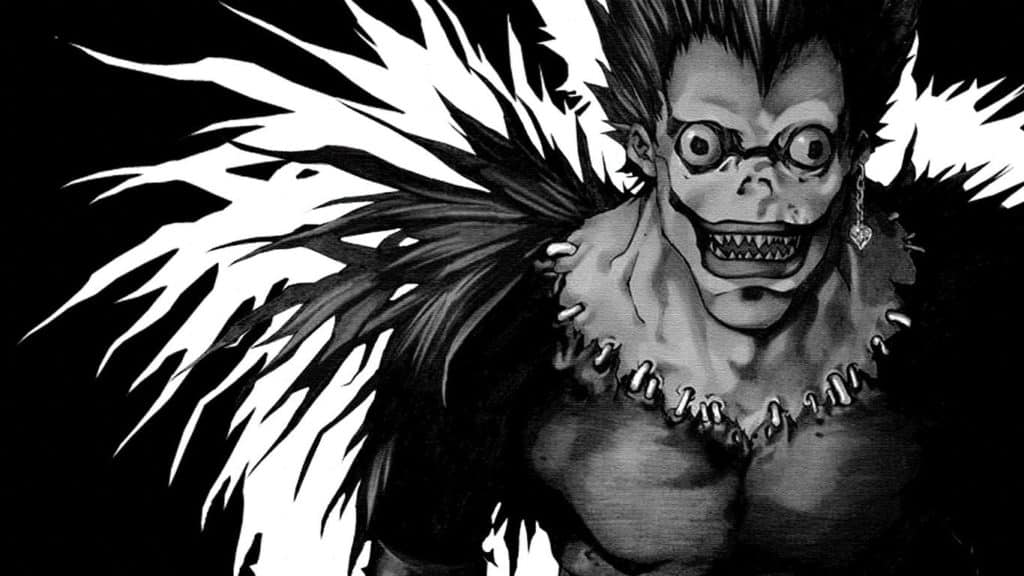Shinigami With The Death Note Book